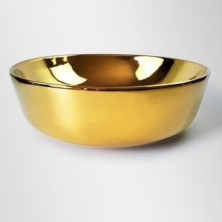 Link to Redondo Circular Golden Vessel Sink Similar Items in Sinks