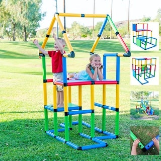 "Funphix Toys Create And Play Life Size Structures - ""Deluxe Set 296 PCS"""