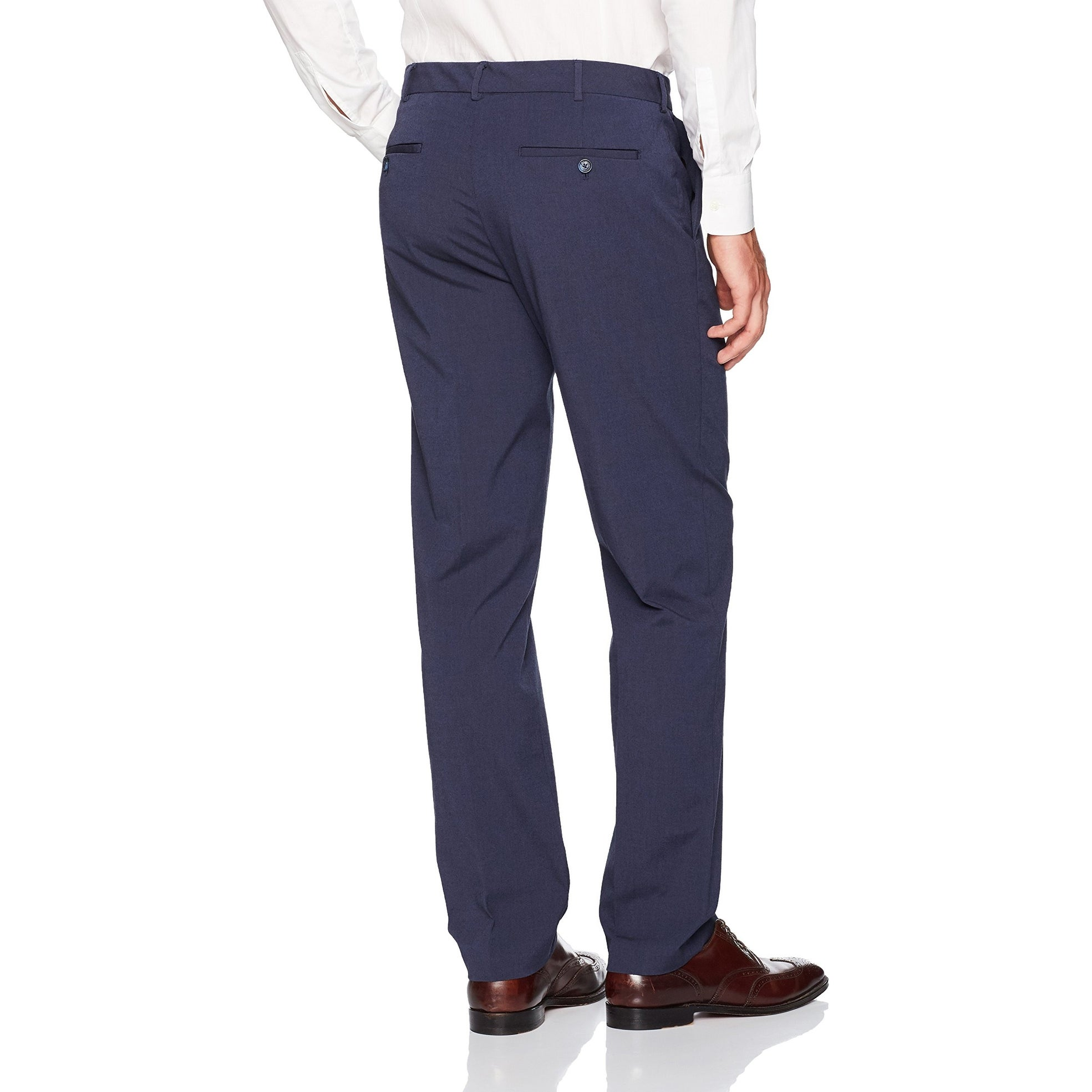 Van Heusen Mens Flex Flat Front Oxford Chino Pant
