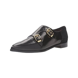 Ted Baker Womens Naoi Pointy-Toe Flats Monk Strap Dress
