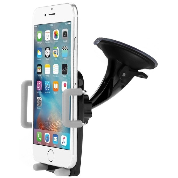 Skiva 2-in-1 Universal Car Phone Mount Phone Holder Cell Phone Dashboard Mount Windshield Mount 360 adjustable for iPhone X 8 8+
