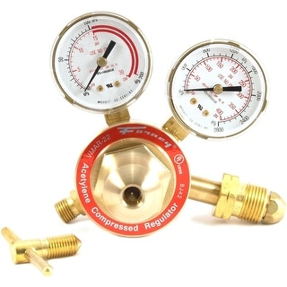 Forney 87091 Acetylene Regulators, Medium Duty