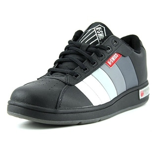K-Swiss Davock   Round Toe Leather  Tennis Shoe