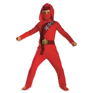 Disguise Red Fire Ninja Child Costume