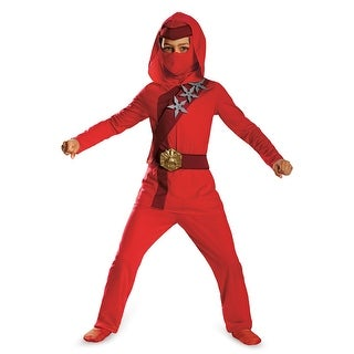 Disguise Red Fire Ninja Child Costume (3 options available)