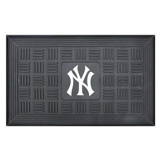New York Yankees Medallion Door Mat