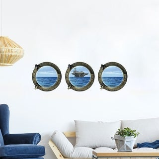 "Removable 3D Magic DIY Wall Decoration Art Sticker Decal 3pcs of Set 11.8""x15.7"""