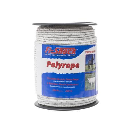 Fi-Shock PR656W6-FS 6-Strand Polyrope, 656'
