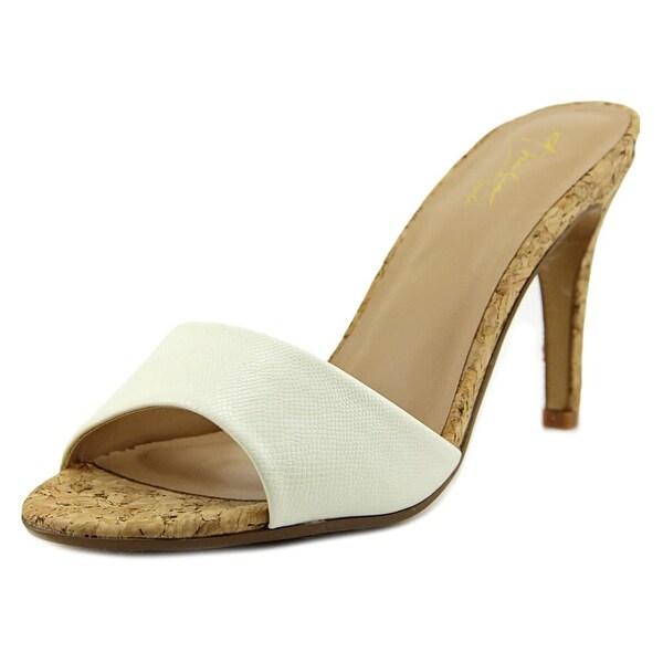 Thalia Sodi Karina White Sandals