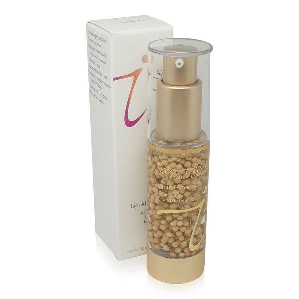 jane iredale Liquid Minerals A Foundation Light Beige 1.01 Oz