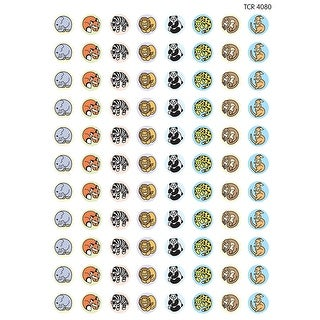 Zoo Animals Mini Stickers