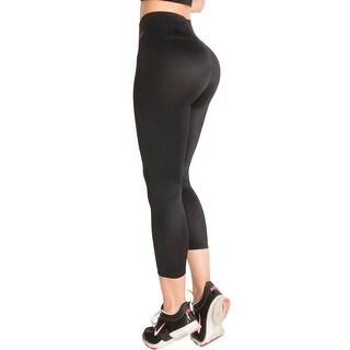 Butt Lifter Leggings Capris with Internal High Rise Body Shaper Powernet Levanta Cola Colombianos Bl