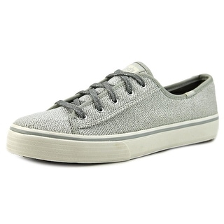 Keds Double Up  Women  Round Toe Canvas Gray Sneakers