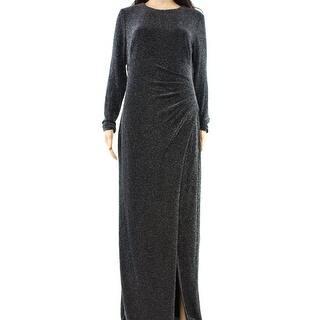 Lauren Ralph Lauren NEW Black Women's Size 6 Front Slit Maxi Dress|https://ak1.ostkcdn.com/images/products/is/images/direct/c3d11c7c2ba5174b15ec143053953537d9e29500/Lauren-Ralph-Lauren-NEW-Black-Women%27s-Size-6-Front-Slit-Maxi-Dress.jpg?impolicy=medium