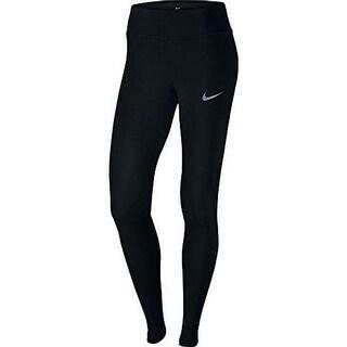 Nike Womens Pwr Epic Lx Tght Mesh, Black, Xl-S