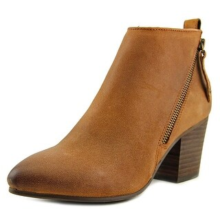 Steve Madden Jaydun Women Pointed Toe Leather Brown Ankle Boot