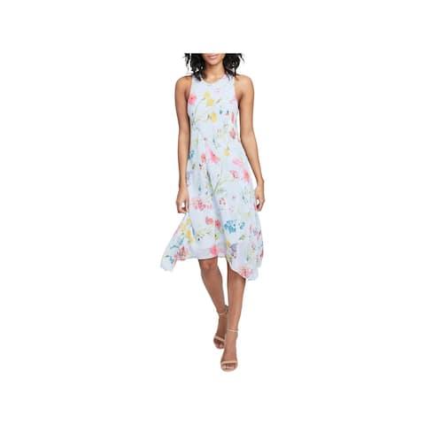 13891fdc8b3 Retro Inspired Daisy Print Tie Front Dress. Details · Rachel Rachel Roy Womens  Sundress Floral Print Knee-Length