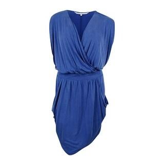 RACHEL Rachel Roy Women's Curvy Plus 24-Hour Sleeveless Draped Dress (2 options available)