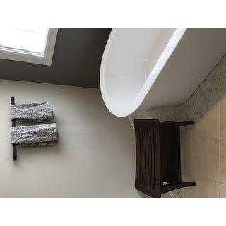 KRAUS Stelios KEA-19937 24-inch Bathroom Towel Bar in Chrome, Brushed Nickel, Matte Black Finish