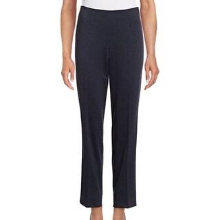 Tommy Hilfiger NEW Blue Women's Size 4X27 Ankle Denim Ponte Bottoms