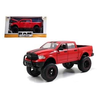 2014 Dodge Ram 1500 Red Pickup Truck Off Road Just Trucks 1/24 Diecast Model by Jada