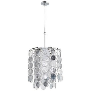 Cyan Design Carina Six Light Pendant Carina 6 Light Pendant with Silver Shade