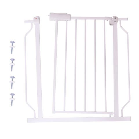 Baby Door Walk Through Safety Gate - Cream