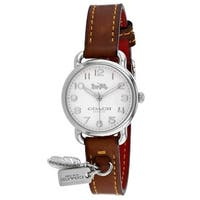Coach Women's Delancey 14502800 White Dial watch