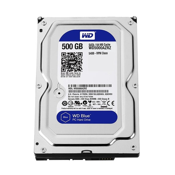Western Digital - 500Gb 3.5 Sata 6G/Bs 5400Rpm 64Mb Wd Blue
