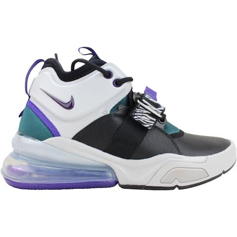 Nike Air Force 270 Light Zen Grey/Court Purple AJ8208-002 Grade-School