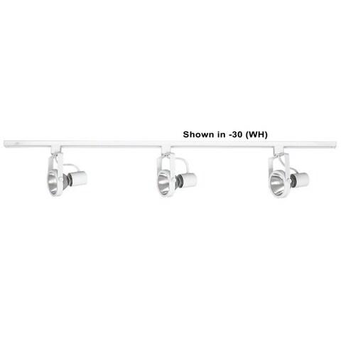 Sunset Lighting F2958 4' Track with Three 75 Watt 12 Volt PAR-30 Heads