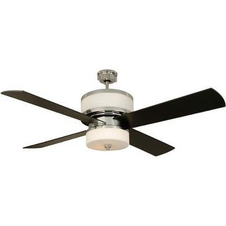 """Craftmade Midoro Modern 56"""" 4 Blade Indoor Ceiling Fan - Blades and Light Kit Included"""