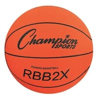 Champion Sports RBB2X 35 in. Basketball Trainer, Orange