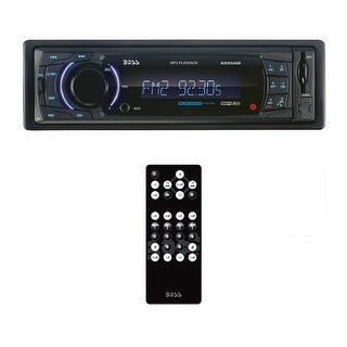 Boss Single Din Mechless Media Receiver Bluetooth