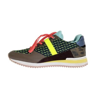 Dolce & Gabbana Multicolor Leather Sport Sneakers - eu39-us8-5