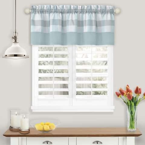 Hunter Window Curtain Valance - 58 x 14 - 58x14