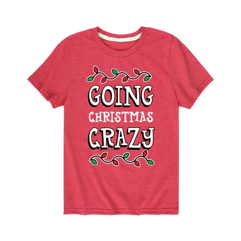 Going Christmas Crazy - Youth Short Sleeve Tee
