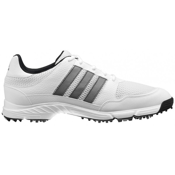 Adidas Men's Tech Response 4.0 White/ White/Dark Silver Metallic Golf Shoes 816570/672981(MED ONLY). Opens flyout.