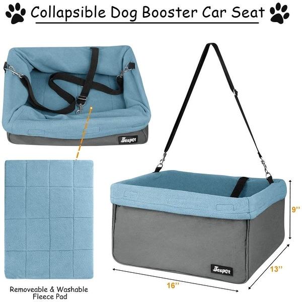 Jespet Vehicle Booster Dog Seat