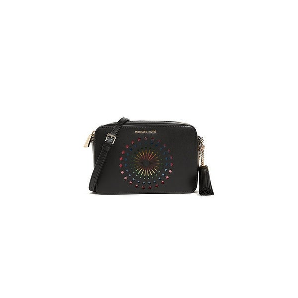 16de145c8f0e Shop MICHAEL Michael Kors Ginny Med Camera Crossbody Bag - One size - Free  Shipping Today - Overstock - 22966471