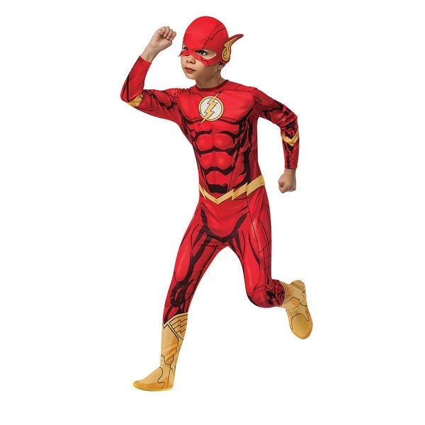 Boys The Flash Superhero Halloween Costume