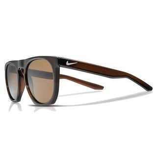Nike Mens Flatspot Brown with Brown Polarized Lens Sunglasses