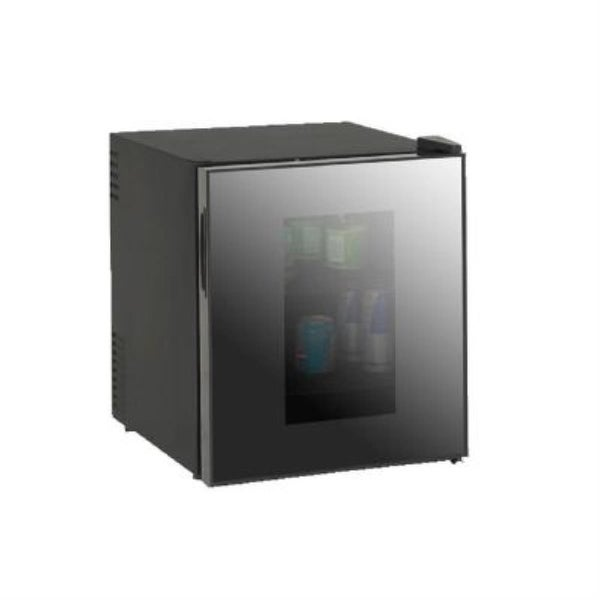 Avanti SBCA017G Black 1.7 CF Deluxe Glass Door Beverage Cooler