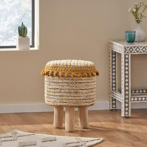 Bladen Fabric Stool by Christopher Knight Home