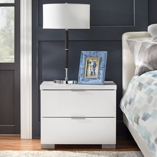 Link to Porch & Den Jefferson High Gloss Nightstand Similar Items in Living Room Furniture