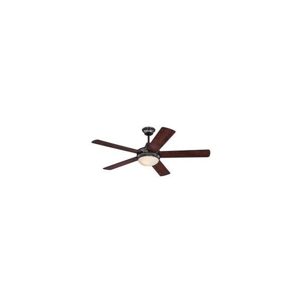"""Westinghouse 7201100 Zander 2-Light 52"""" Ceiling Fan - Gun Metal - n/a"""