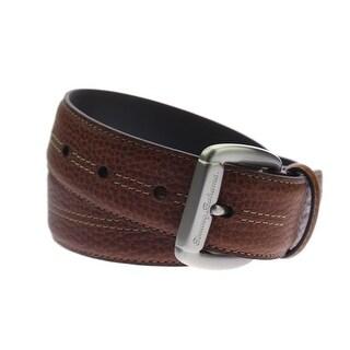 Tommy Bahama Mens Leather Textured Dress Belt