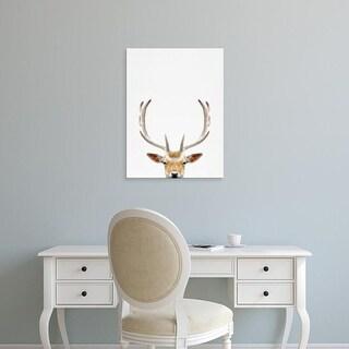 Easy Art Prints Tai Prints's 'Deer' Premium Canvas Art