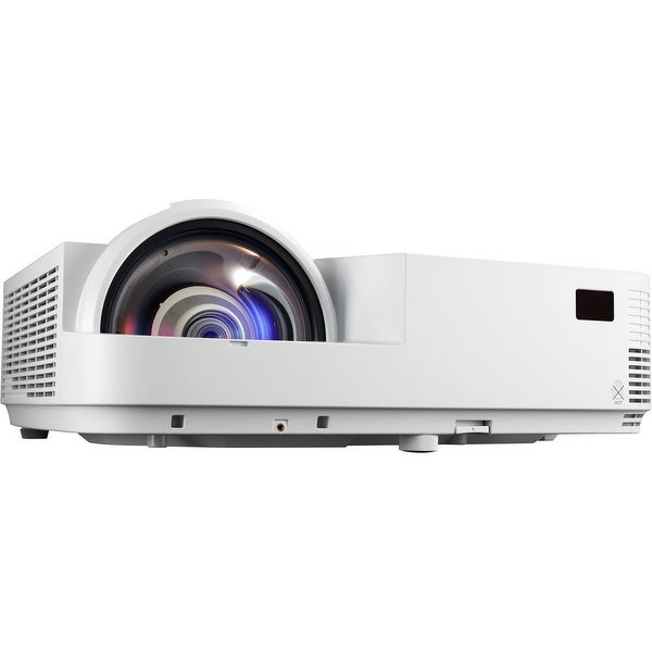 Nec Display Solutions - Wxga, Dlp, 3500 Lumen Short Throw Projector - 0.6 Throw Ratio, W/10,000:1 Contra