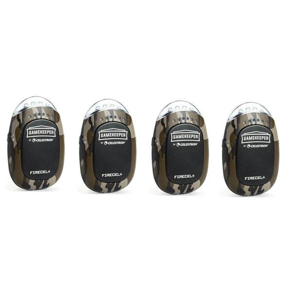 Celestron 93549 Gamekeeper w/ Portable Power Bank, LED Flashlight Hand Warmer (4-Pack)